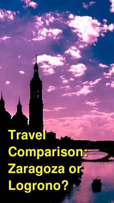 Zaragoza vs. Logrono Travel Comparison