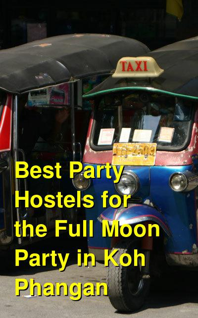 Best Party Hostels for the Full Moon Party in Koh Phangan | Budget Your Trip