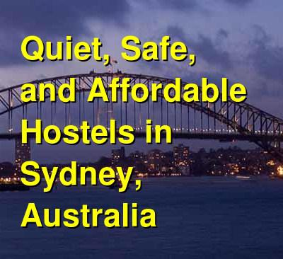 Quiet, Safe, and Affordable Hostels in Sydney, Australia | Budget Your Trip