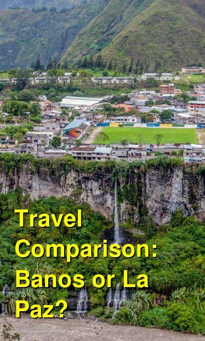 Banos vs. La Paz Travel Comparison