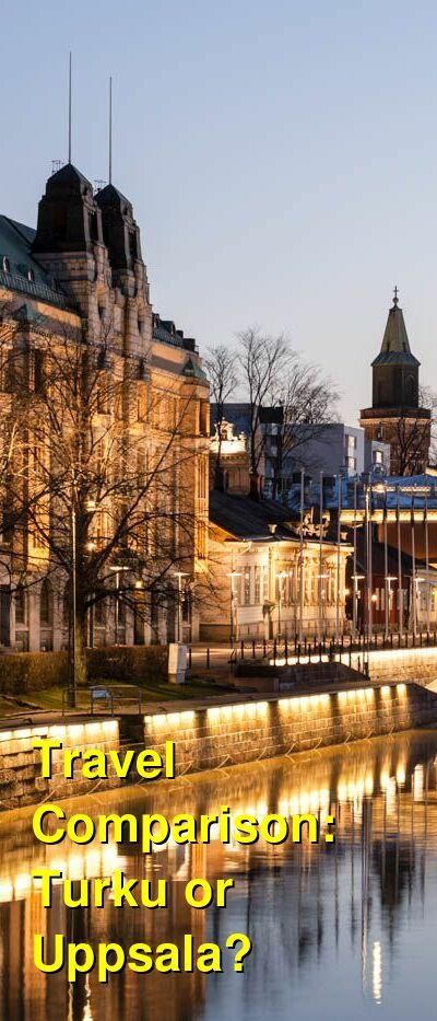 Turku vs. Uppsala Travel Comparison