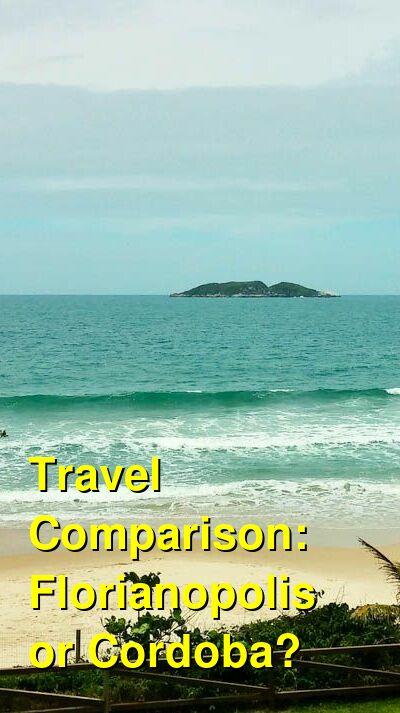 Florianopolis vs. Cordoba Travel Comparison