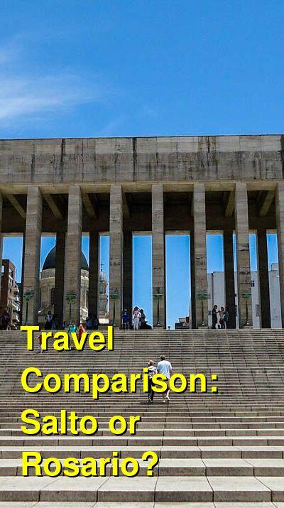 Salto vs. Rosario Travel Comparison