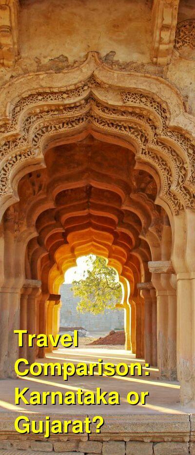 Karnataka vs. Gujarat Travel Comparison
