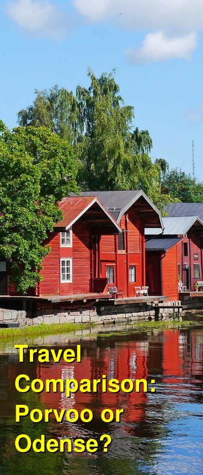 Porvoo vs. Odense Travel Comparison