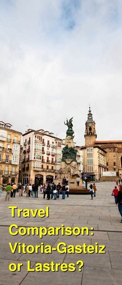 Vitoria-Gasteiz vs. Lastres Travel Comparison