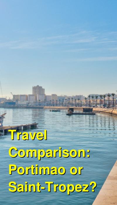 Portimao vs. Saint-Tropez Travel Comparison