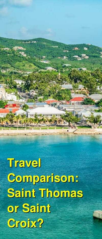 Saint Thomas vs. Saint Croix Travel Comparison