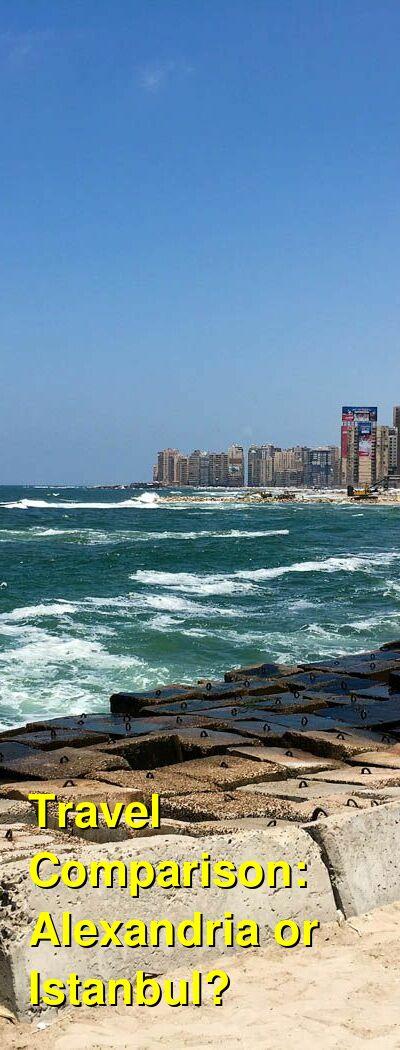 Alexandria vs. Istanbul Travel Comparison