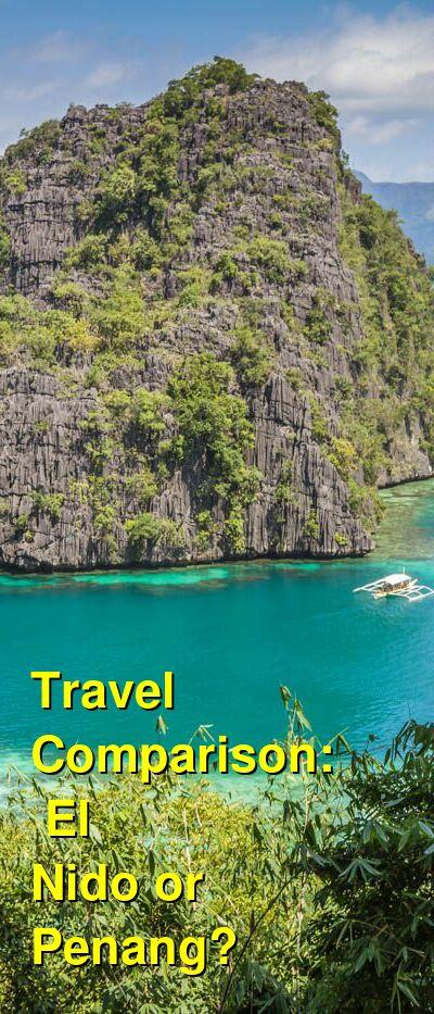 El Nido vs. Penang Travel Comparison