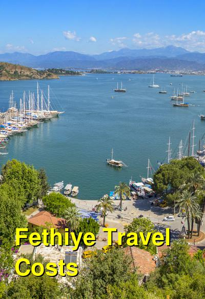 Fethiye Travel Cost - Average Price of a Vacation to Fethiye: Food & Meal Budget, Daily & Weekly Expenses | BudgetYourTrip.com
