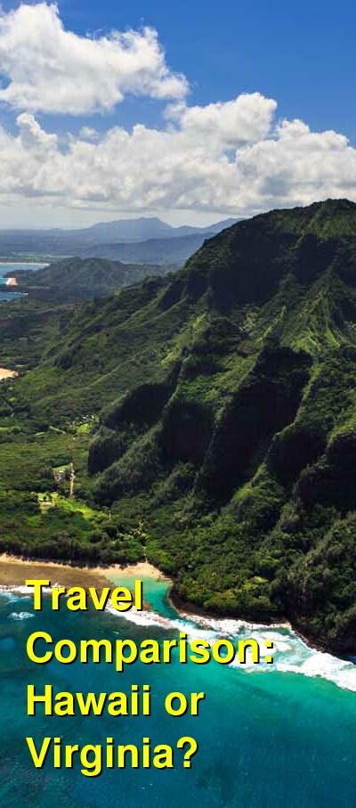 Hawaii vs. Virginia Travel Comparison