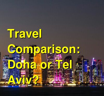 Doha vs. Tel Aviv Travel Comparison