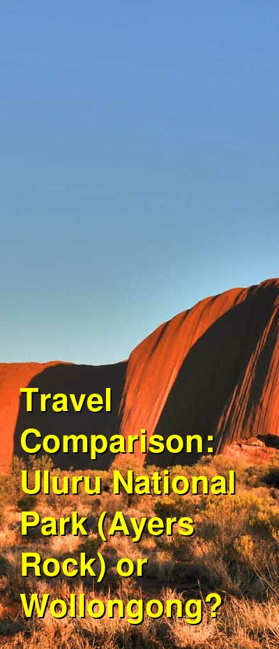 Uluru National Park (Ayers Rock) vs. Wollongong Travel Comparison
