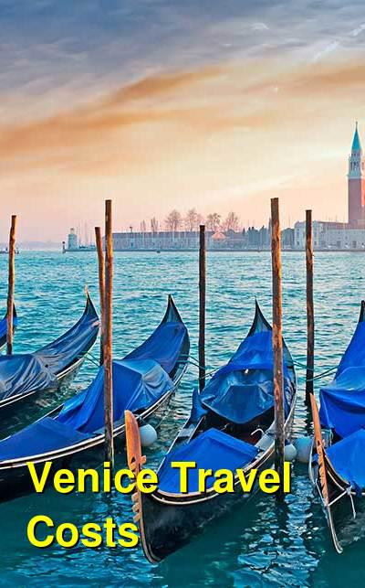 Venice Travel Costs & Prices - Canals, Gondola Rides & Vaporetti | BudgetYourTrip.com