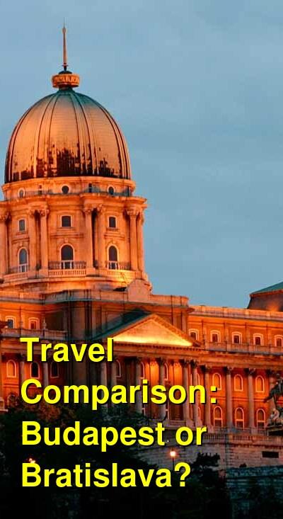 Budapest vs. Bratislava Travel Comparison