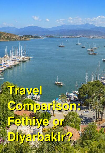 Fethiye vs. Diyarbakir Travel Comparison