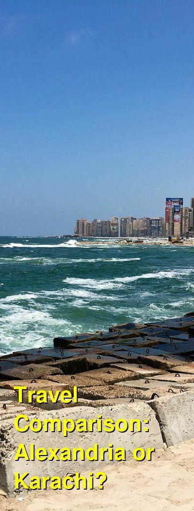 Alexandria vs. Karachi Travel Comparison