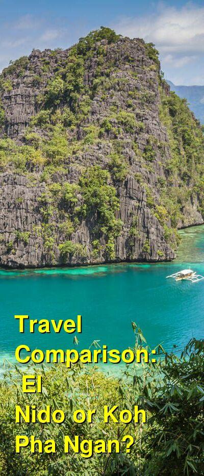 El Nido vs. Koh Pha Ngan Travel Comparison