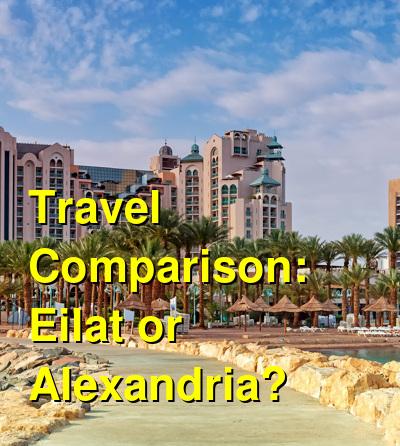 Eilat vs. Alexandria Travel Comparison