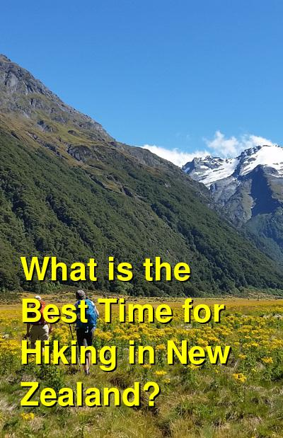 What is the Best Time for Hiking in New Zealand? | Budget Your Trip