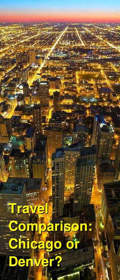 Chicago vs. Denver Travel Comparison