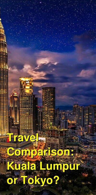 Kuala Lumpur vs. Tokyo Travel Comparison
