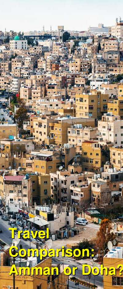 Amman vs. Doha Travel Comparison