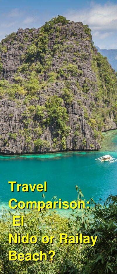 El Nido vs. Railay Beach Travel Comparison