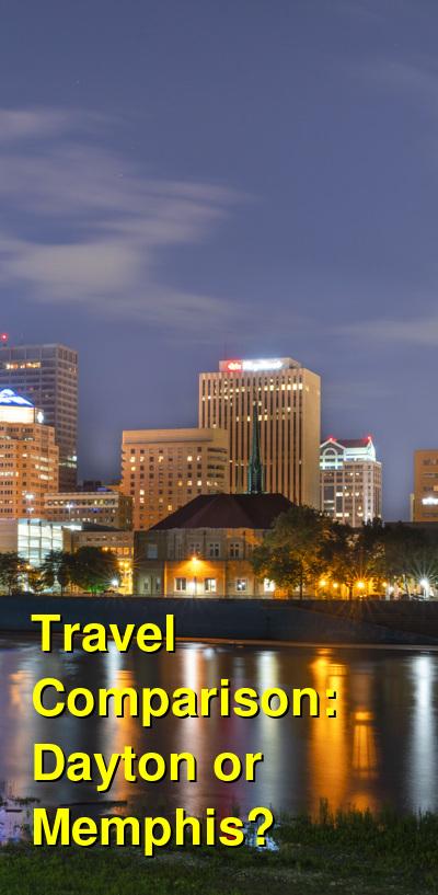 Dayton vs. Memphis Travel Comparison