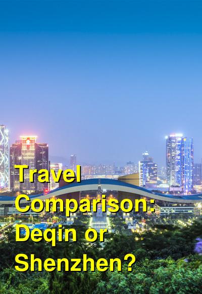 Deqin vs. Shenzhen Travel Comparison