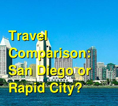 San Diego vs. Rapid City Travel Comparison