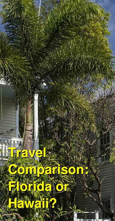Florida vs. Hawaii Travel Comparison