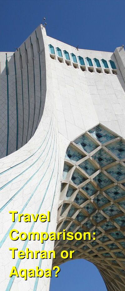 Tehran vs. Aqaba Travel Comparison