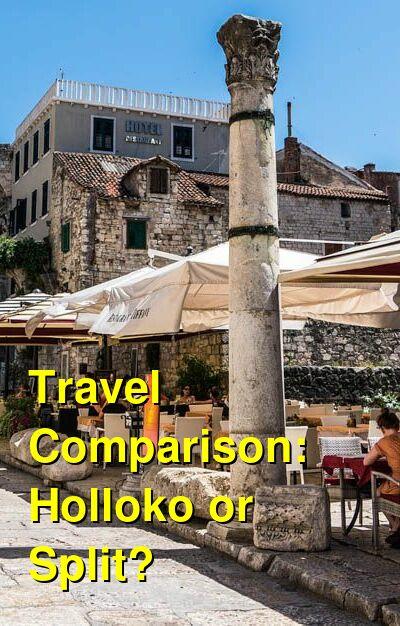 Holloko vs. Split Travel Comparison