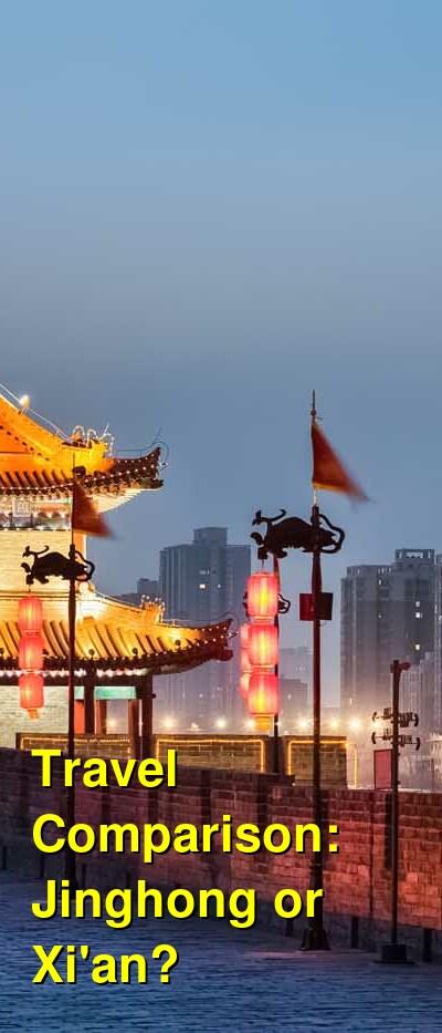 Jinghong vs. Xi'an Travel Comparison