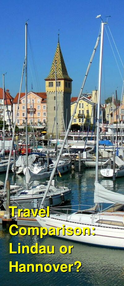 Lindau vs. Hannover Travel Comparison