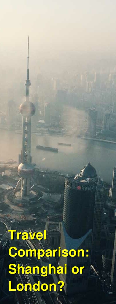 Shanghai vs. London Travel Comparison