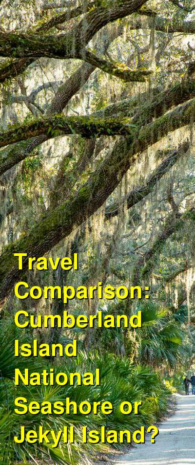 Cumberland Island National Seashore vs. Jekyll Island Travel Comparison