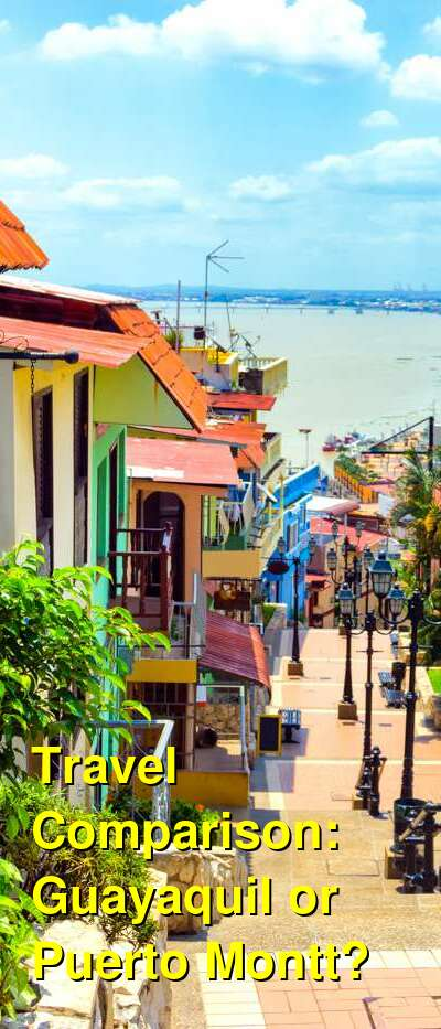 Guayaquil vs. Puerto Montt Travel Comparison