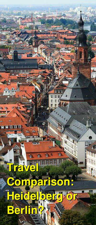 Heidelberg vs. Berlin Travel Comparison
