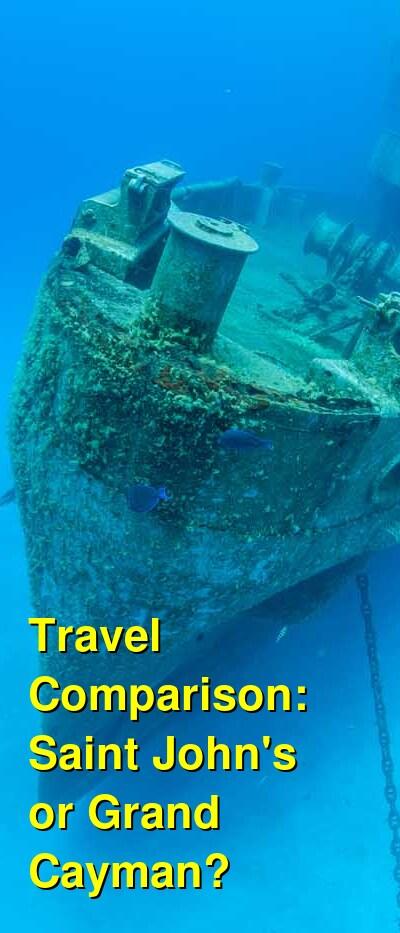 Saint John's vs. Grand Cayman Travel Comparison