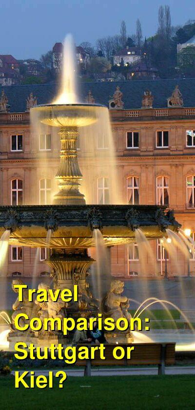 Stuttgart vs. Kiel Travel Comparison