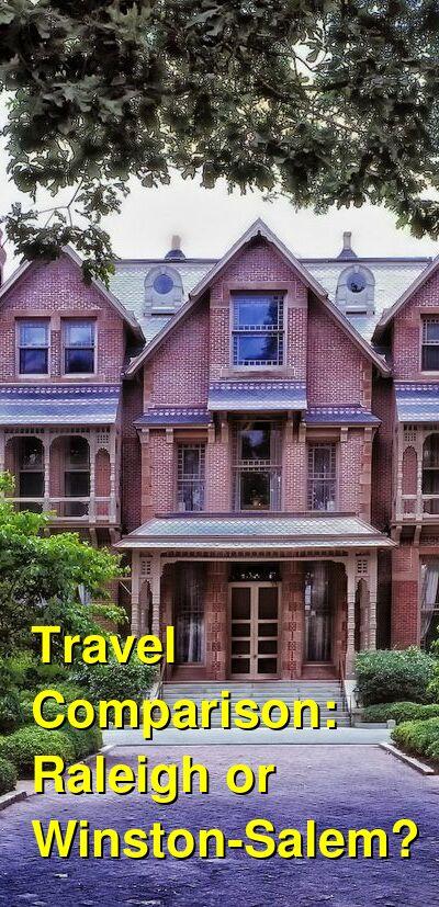 Raleigh vs. Winston-Salem Travel Comparison