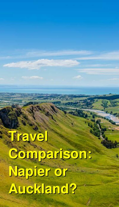 Napier vs. Auckland Travel Comparison