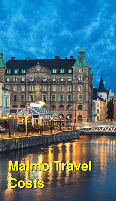 Malmo Travel Cost - Average Price of a Vacation to Malmo: Food & Meal Budget, Daily & Weekly Expenses | BudgetYourTrip.com
