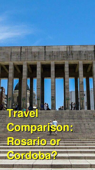 Rosario vs. Cordoba Travel Comparison