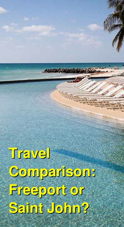 Freeport vs. Saint John Travel Comparison