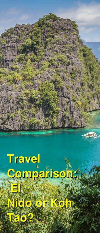 El Nido vs. Koh Tao Travel Comparison
