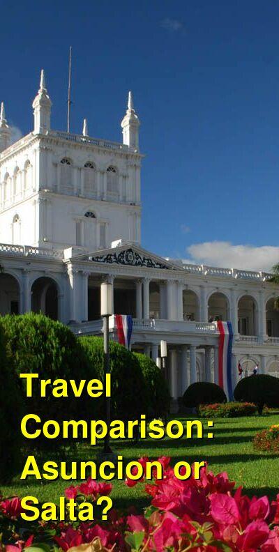 Asuncion vs. Salta Travel Comparison